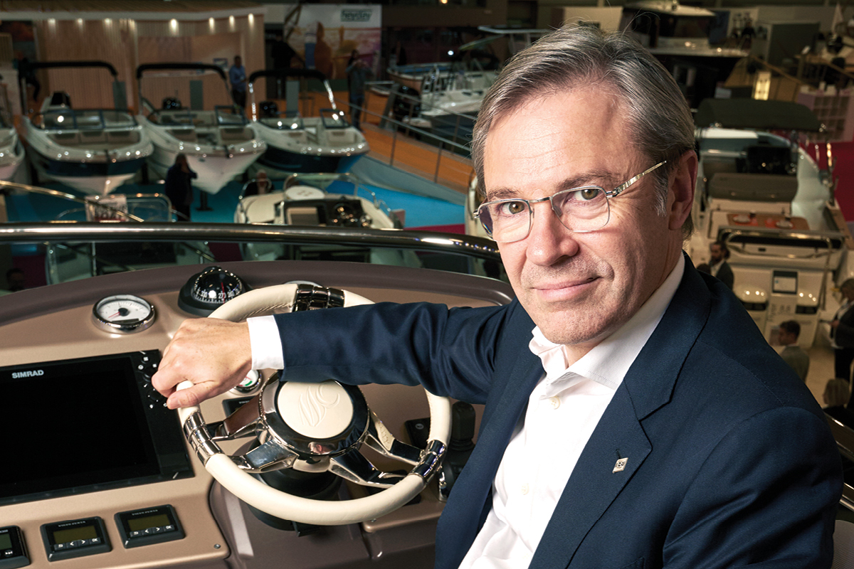 Hervé Gastinel CEO of Beneteau Group