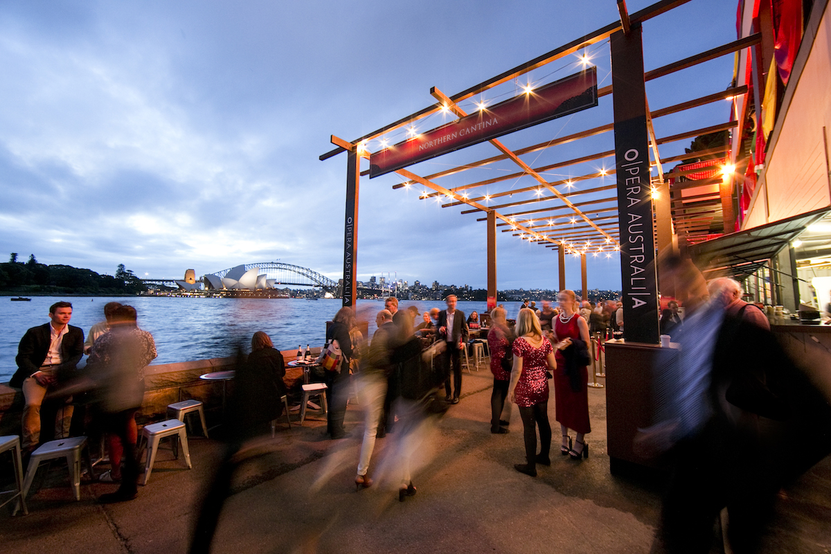 Northern Cantina at the Handa Opera on Sydney Harbour