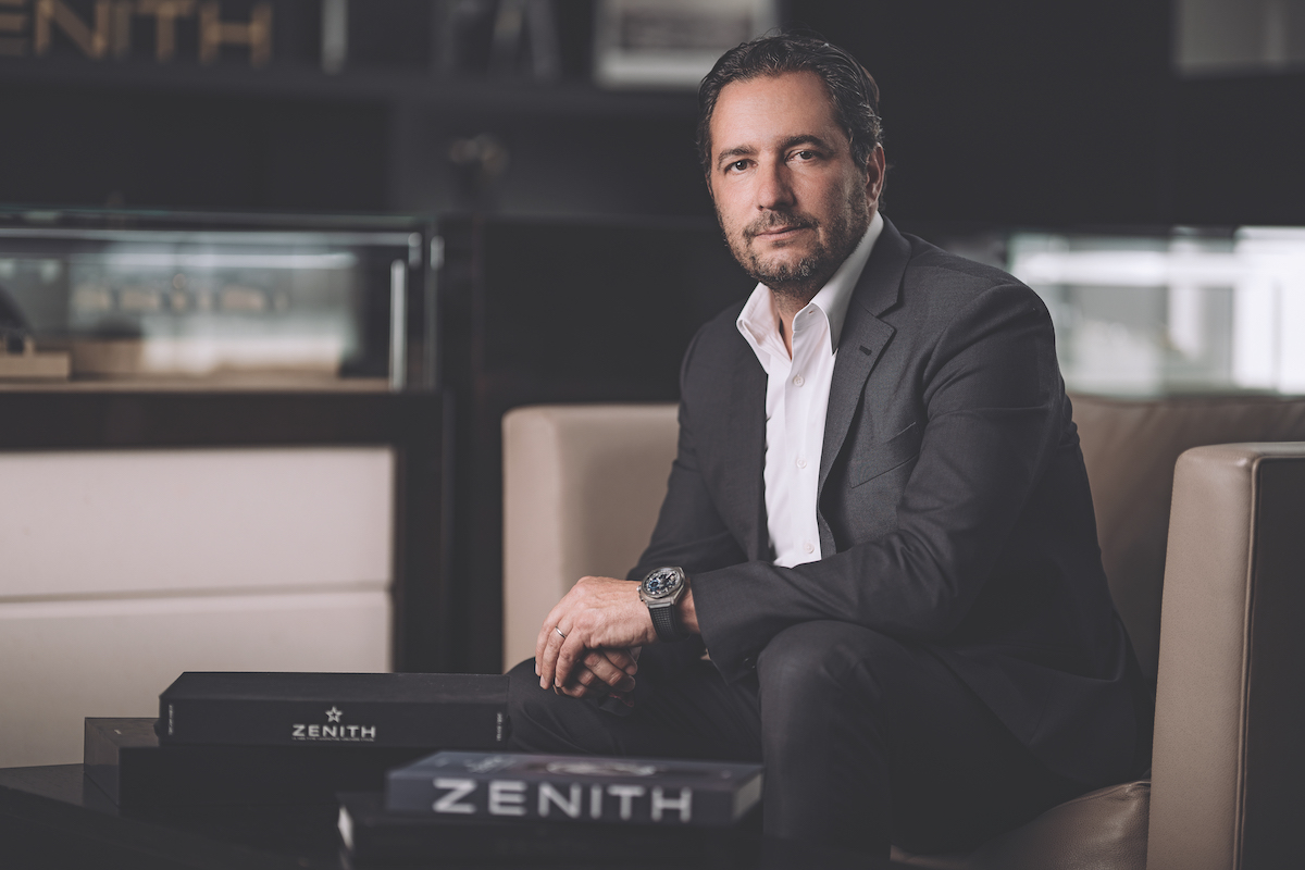 Julian Tornare CEO of Zenith