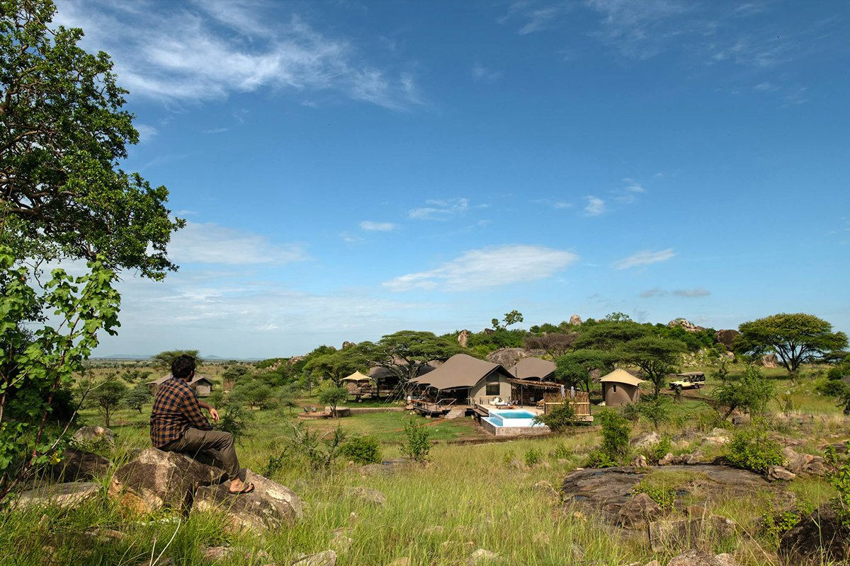 African lodge Lemala