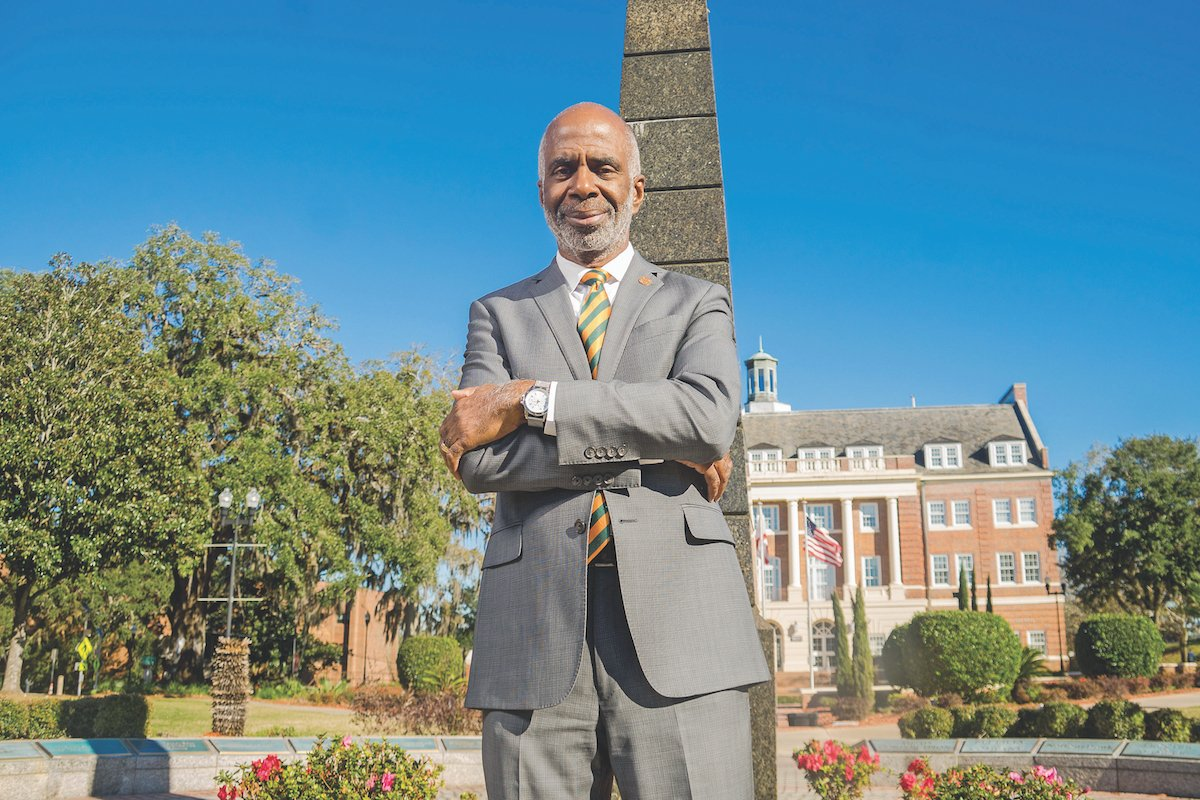 Larry Robinson President of Florida Agricultural and Mechanical University