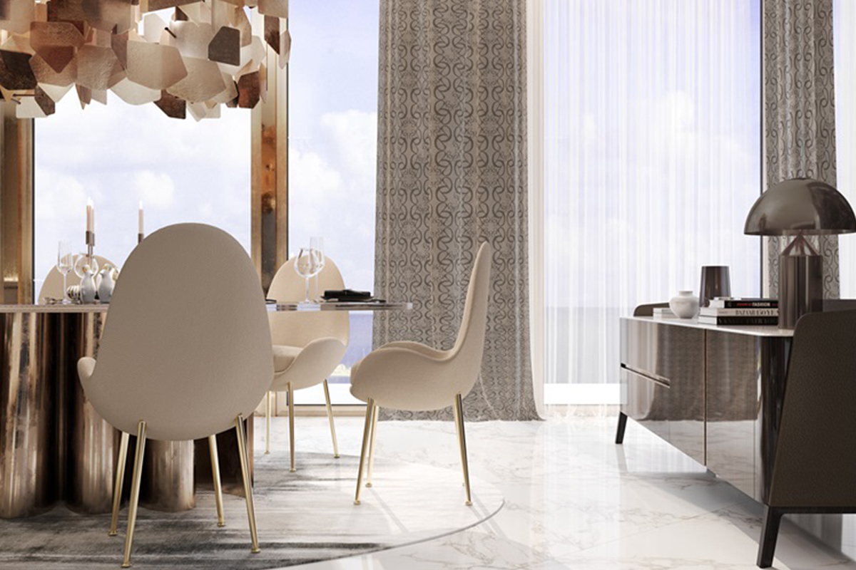 Elie Saab partnered with Emaar to create a range of ethereal luxury real estate in Dubai.