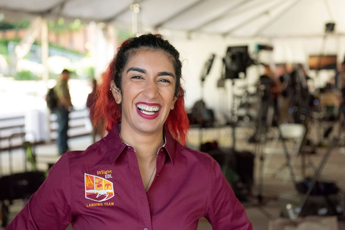 Farah Alibay is a NASA engineer making groundbreaking history on Mars with InSight