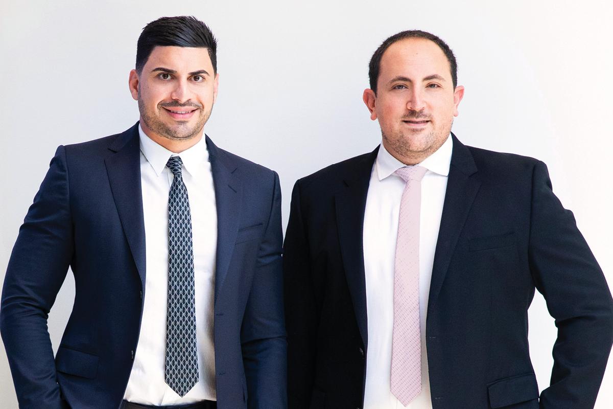 Anthony El-Hazouri and Charbel Hazzouri