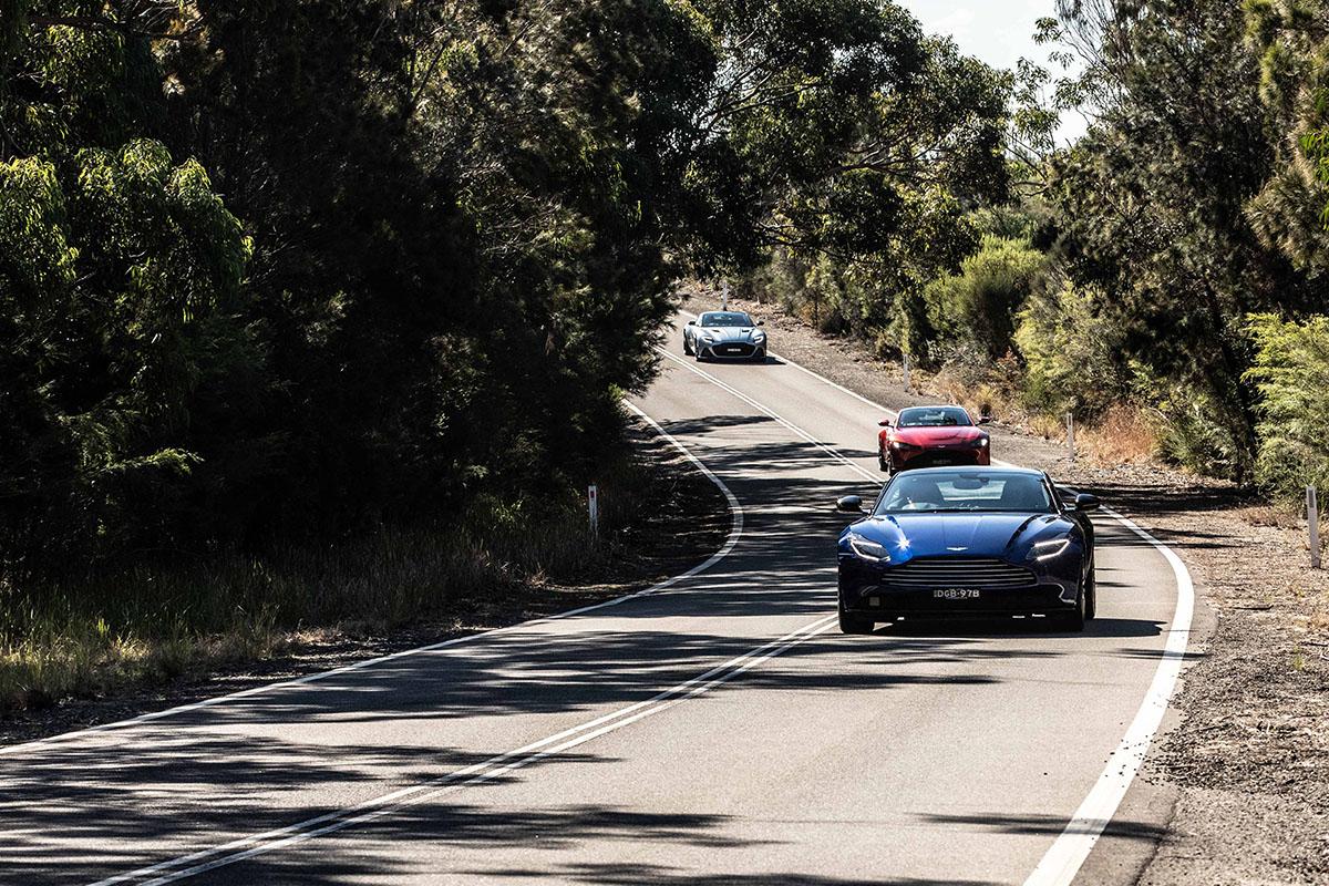 Aston Martin ladies drive day