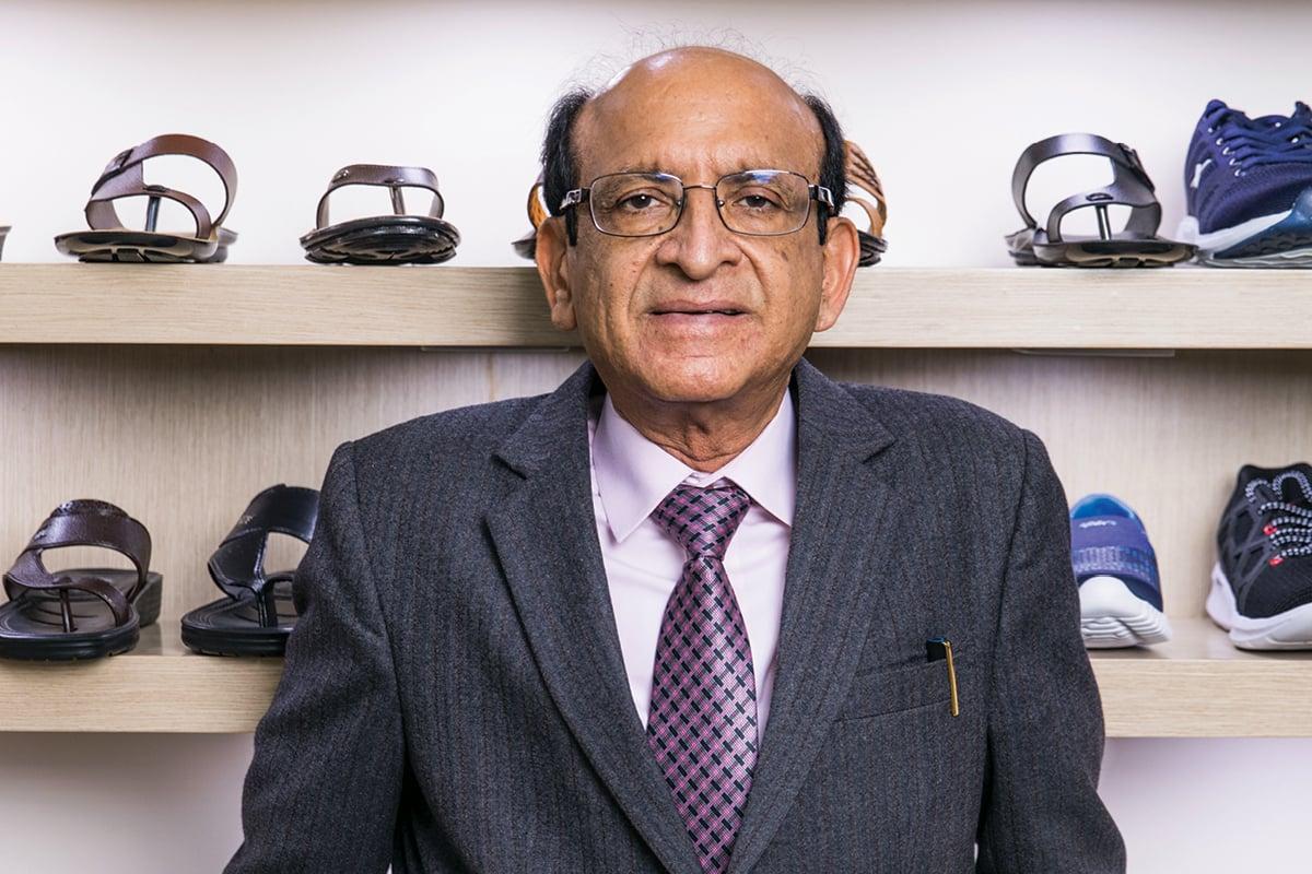 Ramesh Kumar Dua, Managing Director of Relaxo Footwear