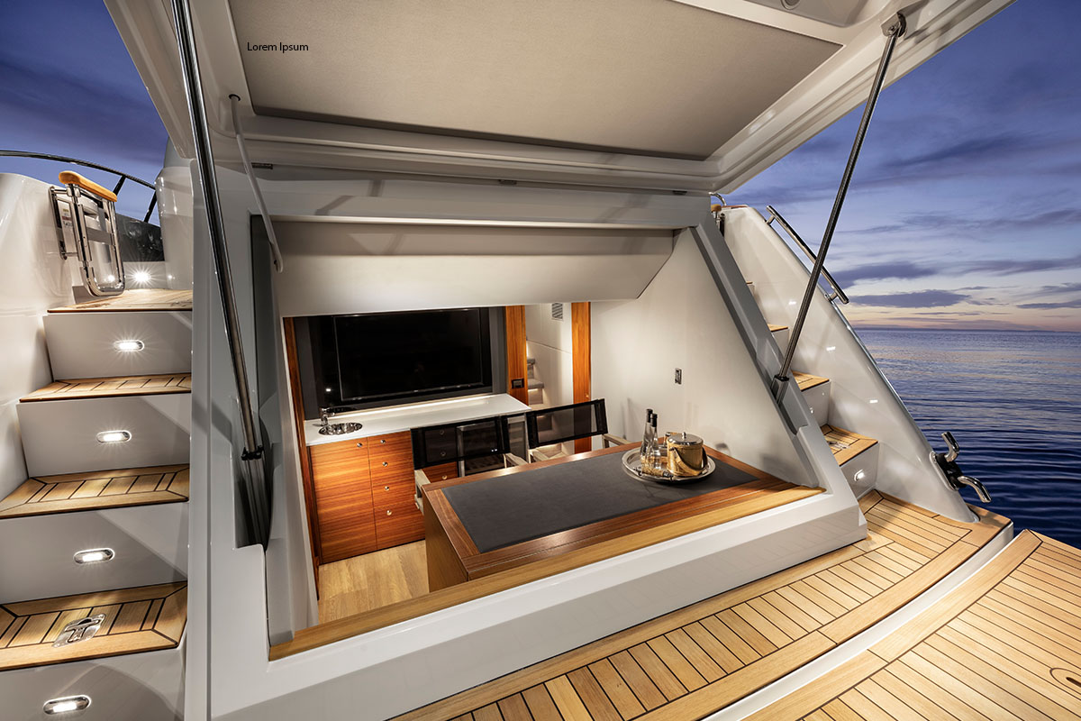 Maritimo stunned at Sanctuary Cove International Boat Show.