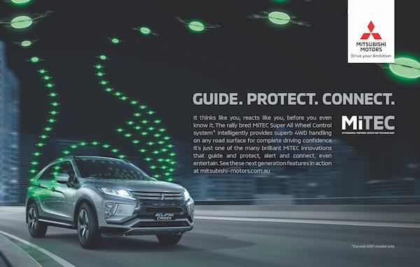 Mitsubishi Motors Australia ad