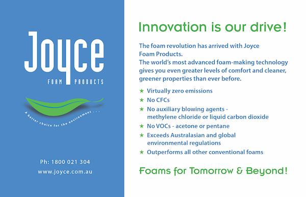 Joyce Foam Products ad