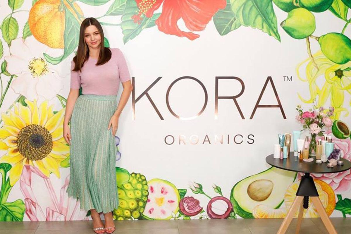 Miranda Kerr Kora Cosmetics