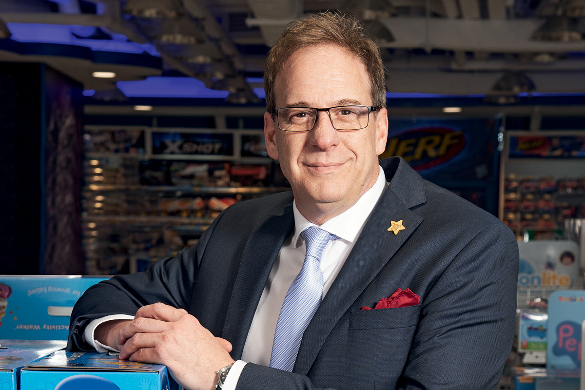 """Andre Javes, President and CEO of Toys""""R""""Us Asia"""