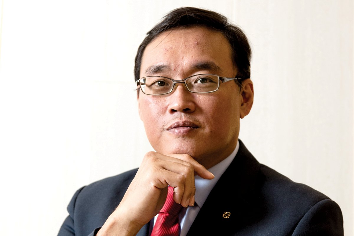 Bernard Chiew, Managing Director, APAC of Illycaffè S.p.A.