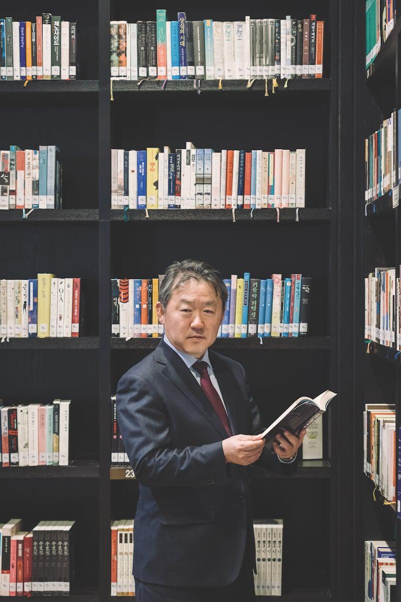 Charles Kim, CEO of SK Advanced