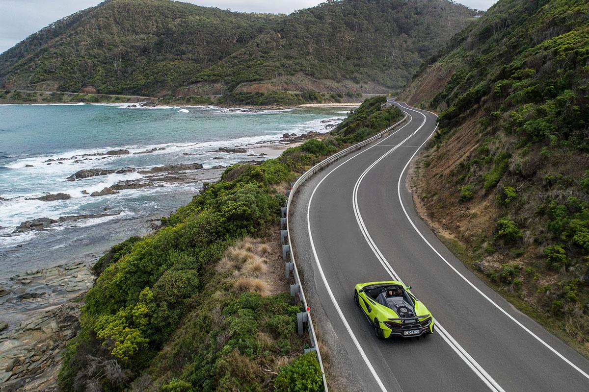 McLaren 600LT Spider Australian debut