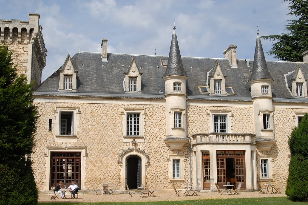 Chateau de la Couronne, France