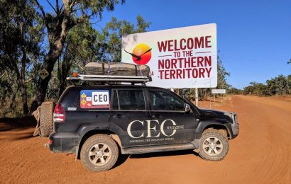 Outback Car Trek The CEO Magazine 4WD