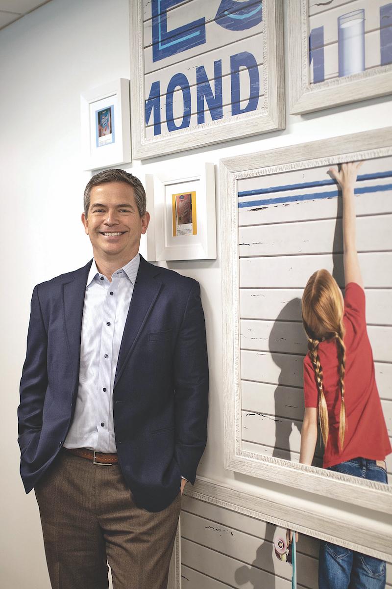 Mark Jansen, CEO of Blue Diamond Growers
