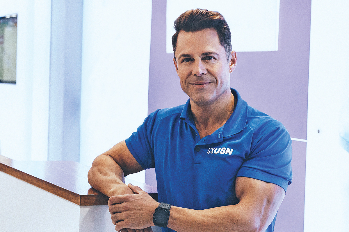 Albé Geldenhuys, CEO and Founder of Ultimate Sports Nutrition (USN)