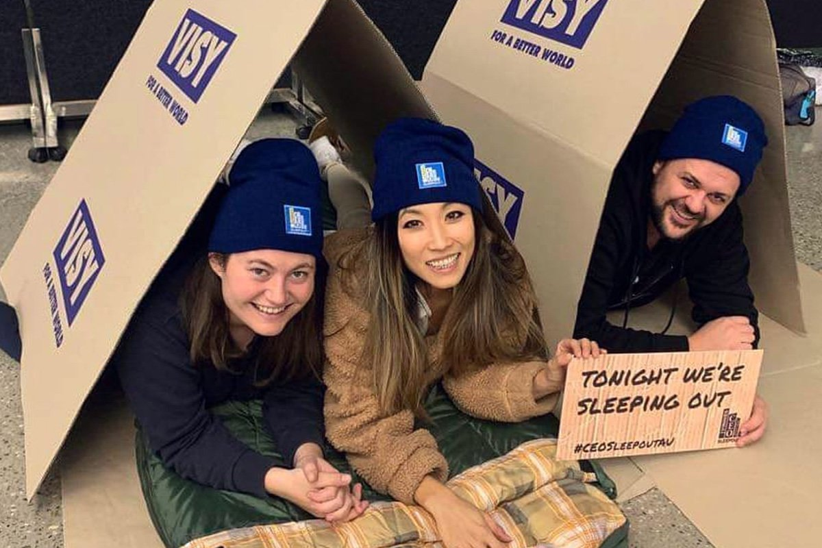 2019 Vinnies CEO Sleepout Australia