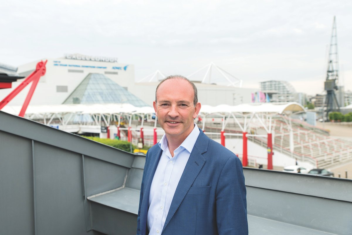 Jeremy Rees, CEO of ExCeL London
