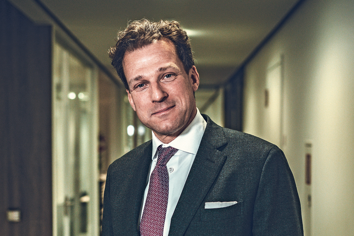Martin Brettenthaler, CEO of Swiss Krono Group