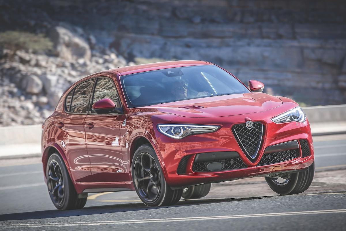 Alfa Romeo Stelvio Q: The Potent