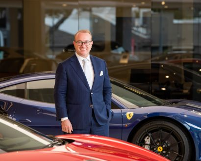 Herbert Appleroth, the CEO of Ferrari Australasia