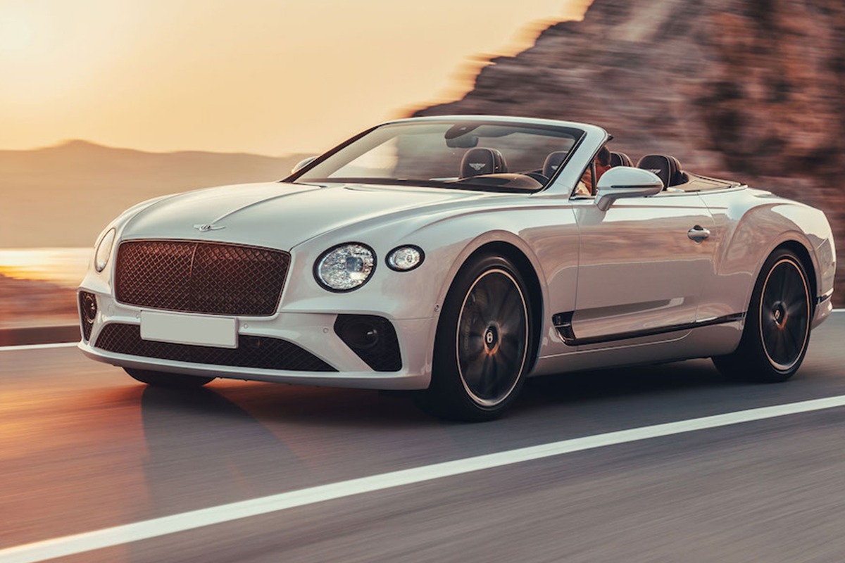 Bentley Continental GT Convertible: The Mobile Cigar Lounge