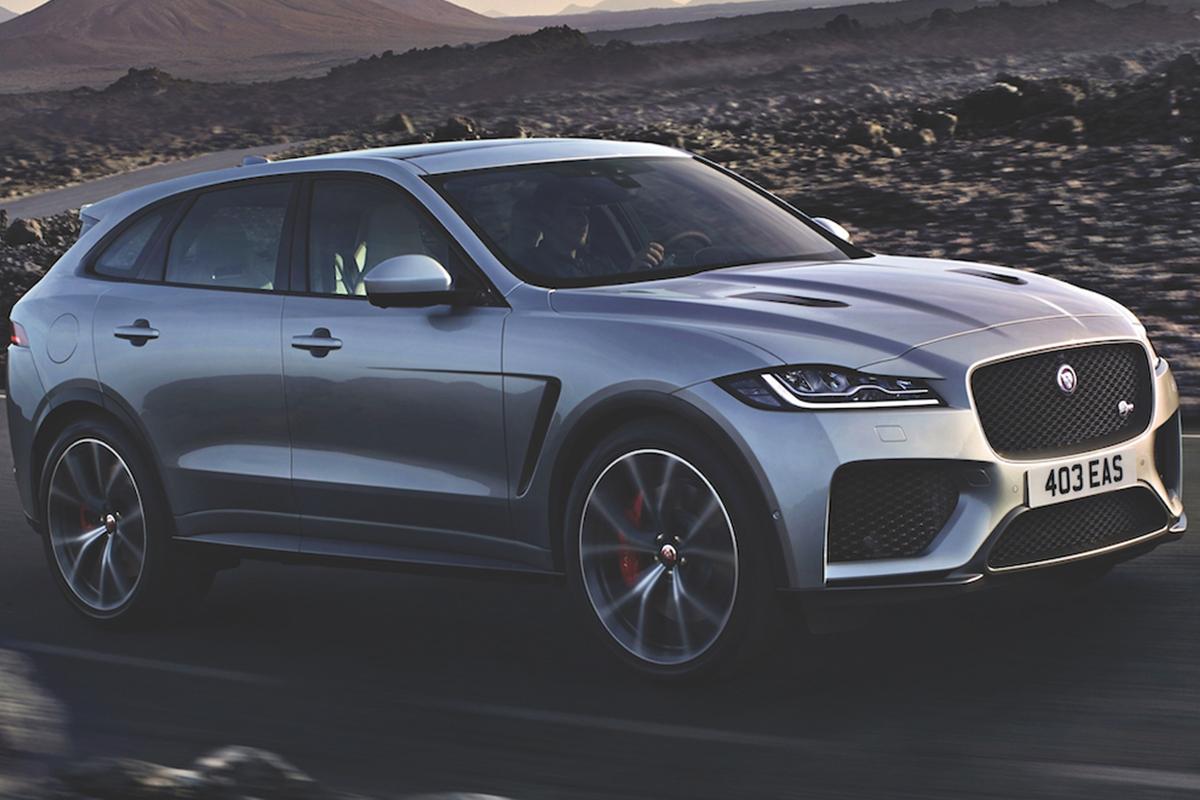 Jaguar F-Pace SVR: The Super-charged SUV