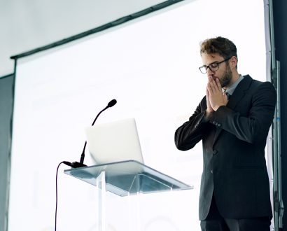 If you have a fear of public speaking, here are five tips to help overcome it.