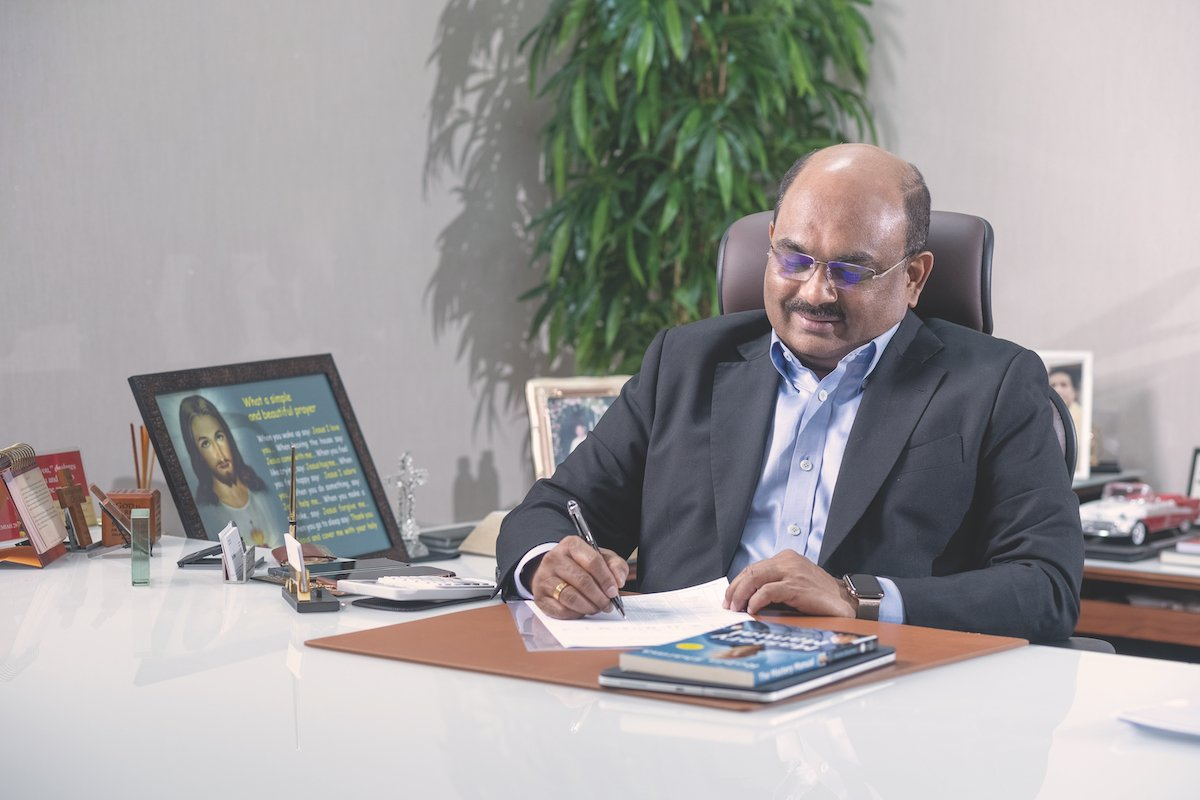 Dr Viju Jacob, Managing Director of Synthite Industries