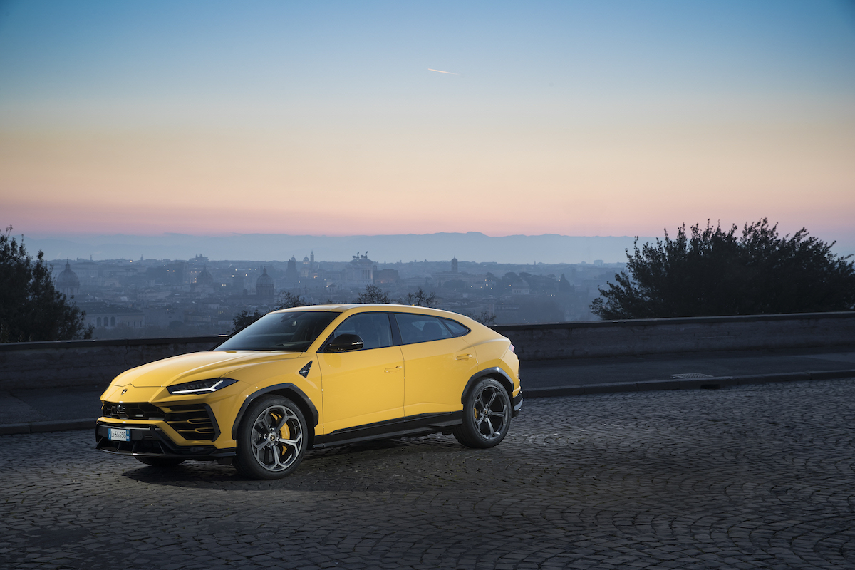 Super SUV: the new Lamborghini Urus