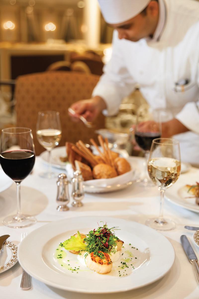 Oceania Cruises Regatta Toscana restaurant