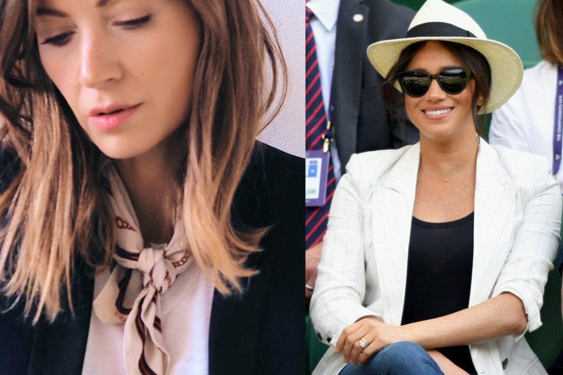Jeweller Emma Swann is behind the handcraft A necklace gifted to Meghan Markle following the royal birth.