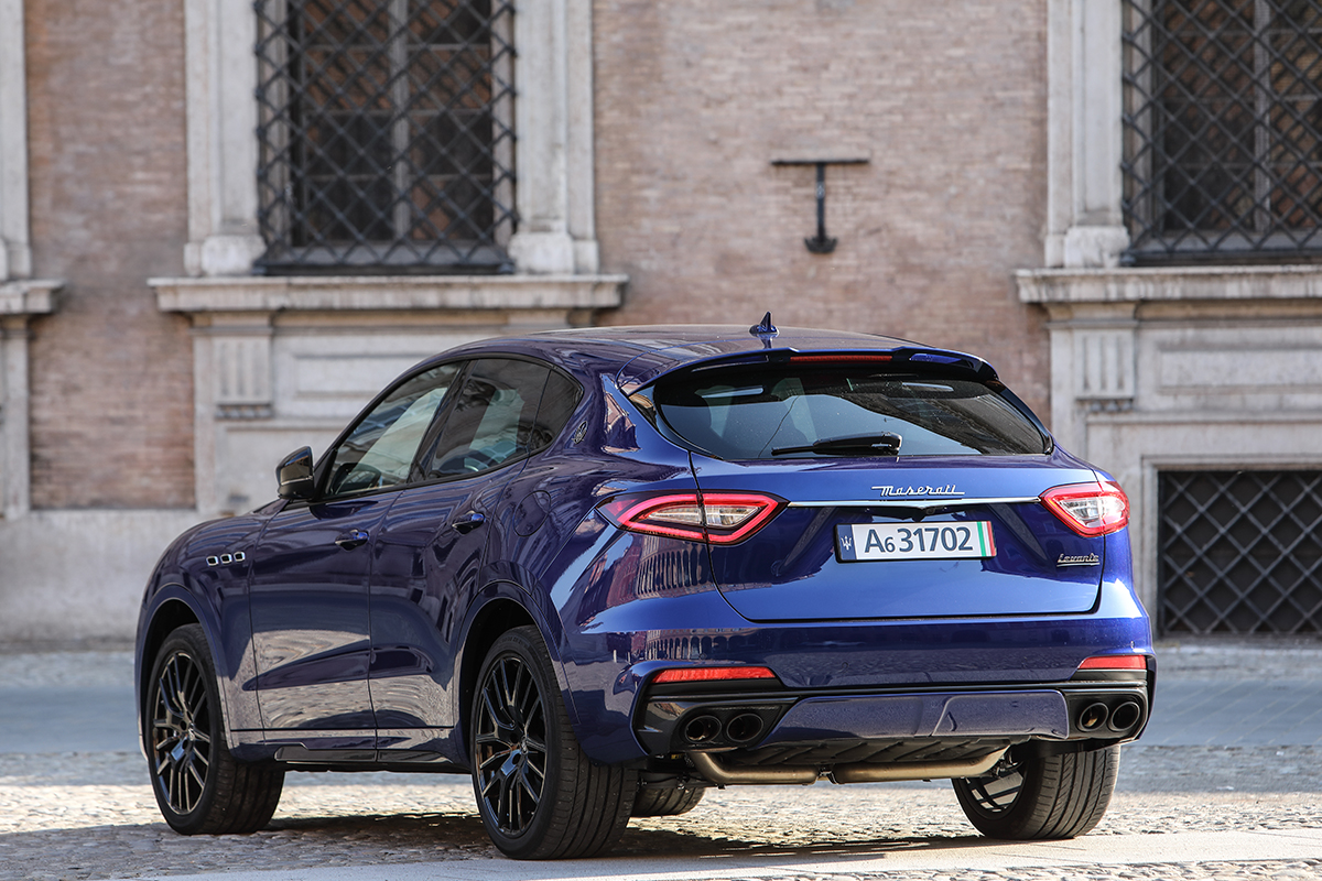 Maserati launch new Levante range in Italy for 2020.