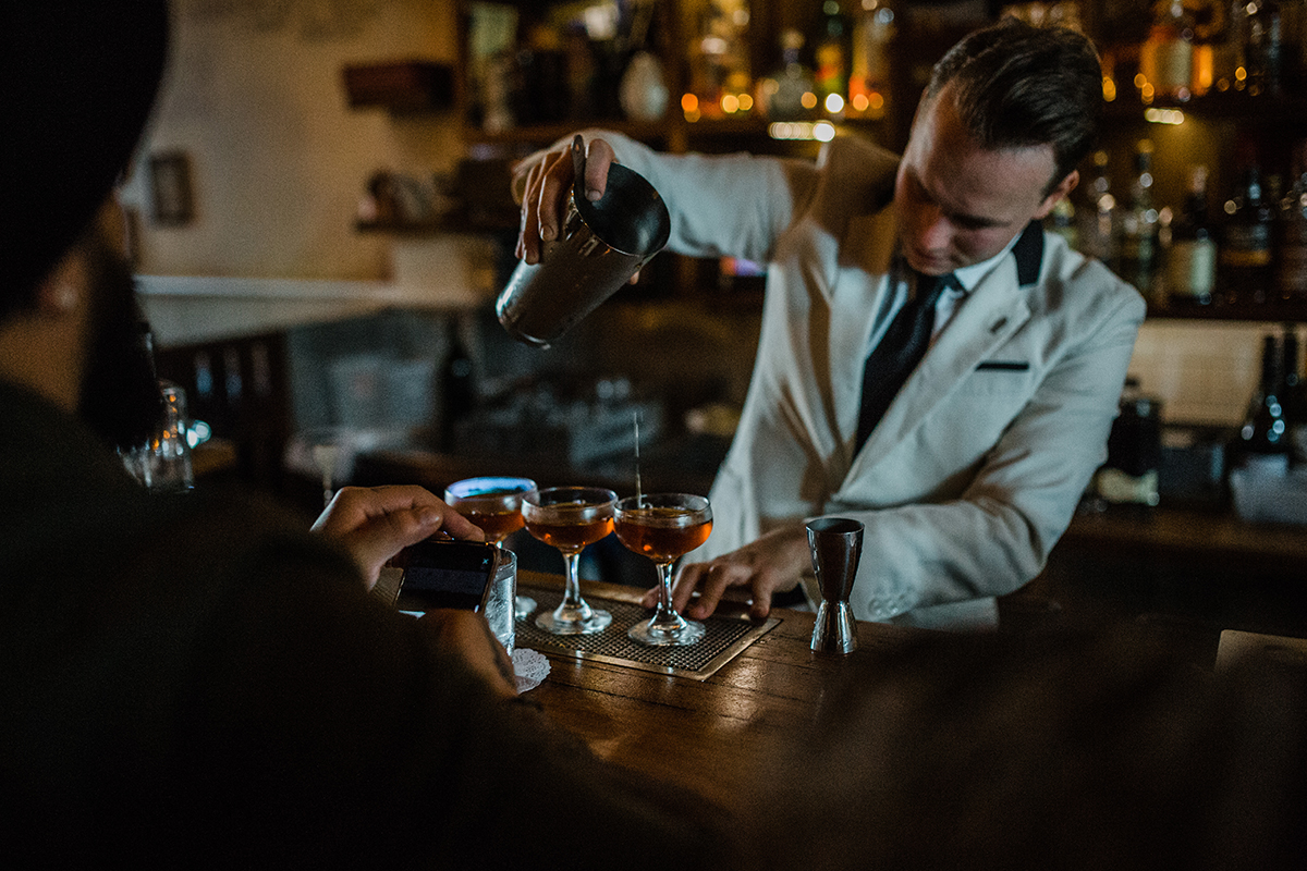 Mr Black is the Australian handmade cold brew coffee liqueur company founded by Tom Baker and Phillip Moore.
