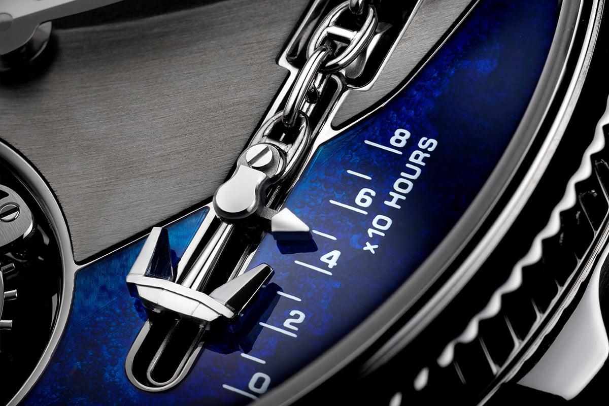 Ulysse Nardin Marine Mega Yacht timepiece.