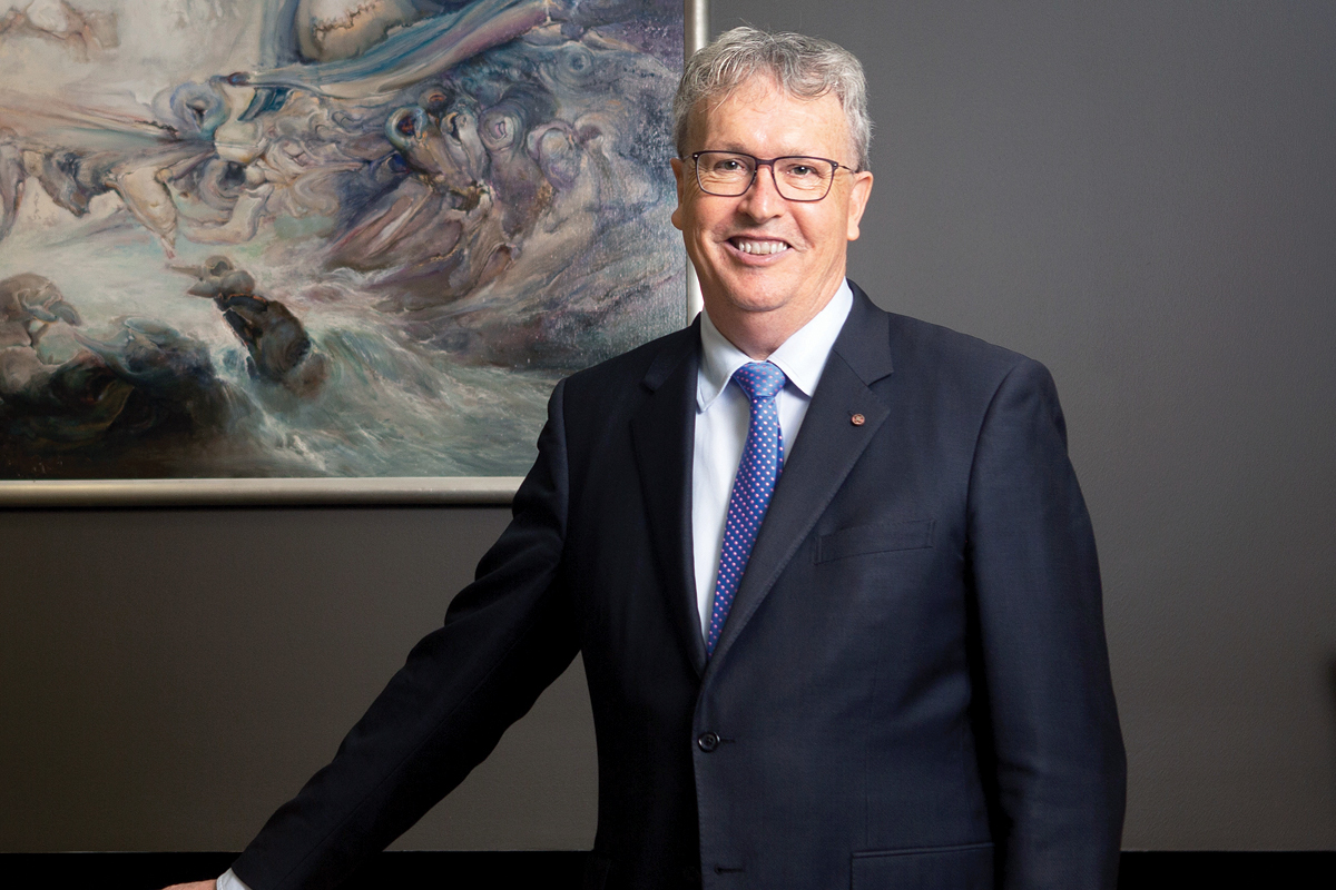 Paul Wellings, Vice Chancellor of University of Wollongong