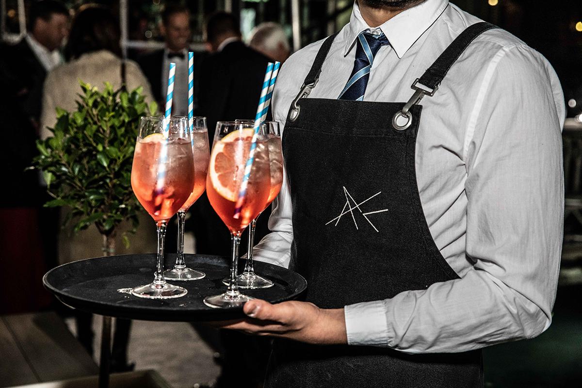 Riva 50 Metri Superyacht VIP dinner party at Sydney International Boat Show.