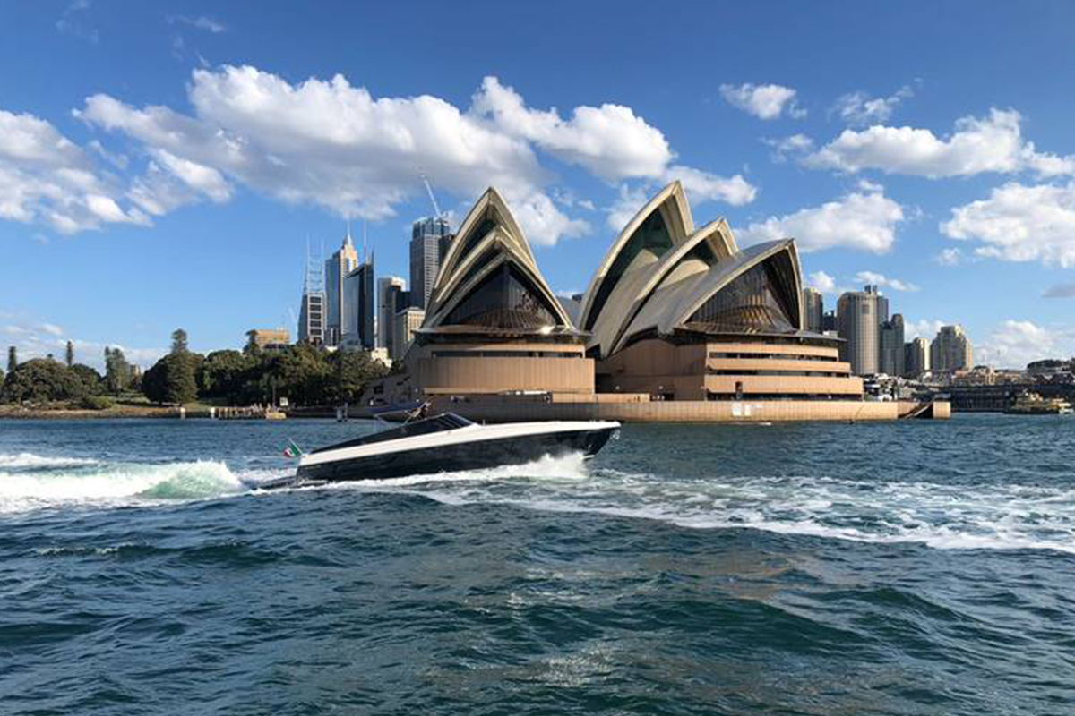 Best of Sydney International Boat Show with Ferretti