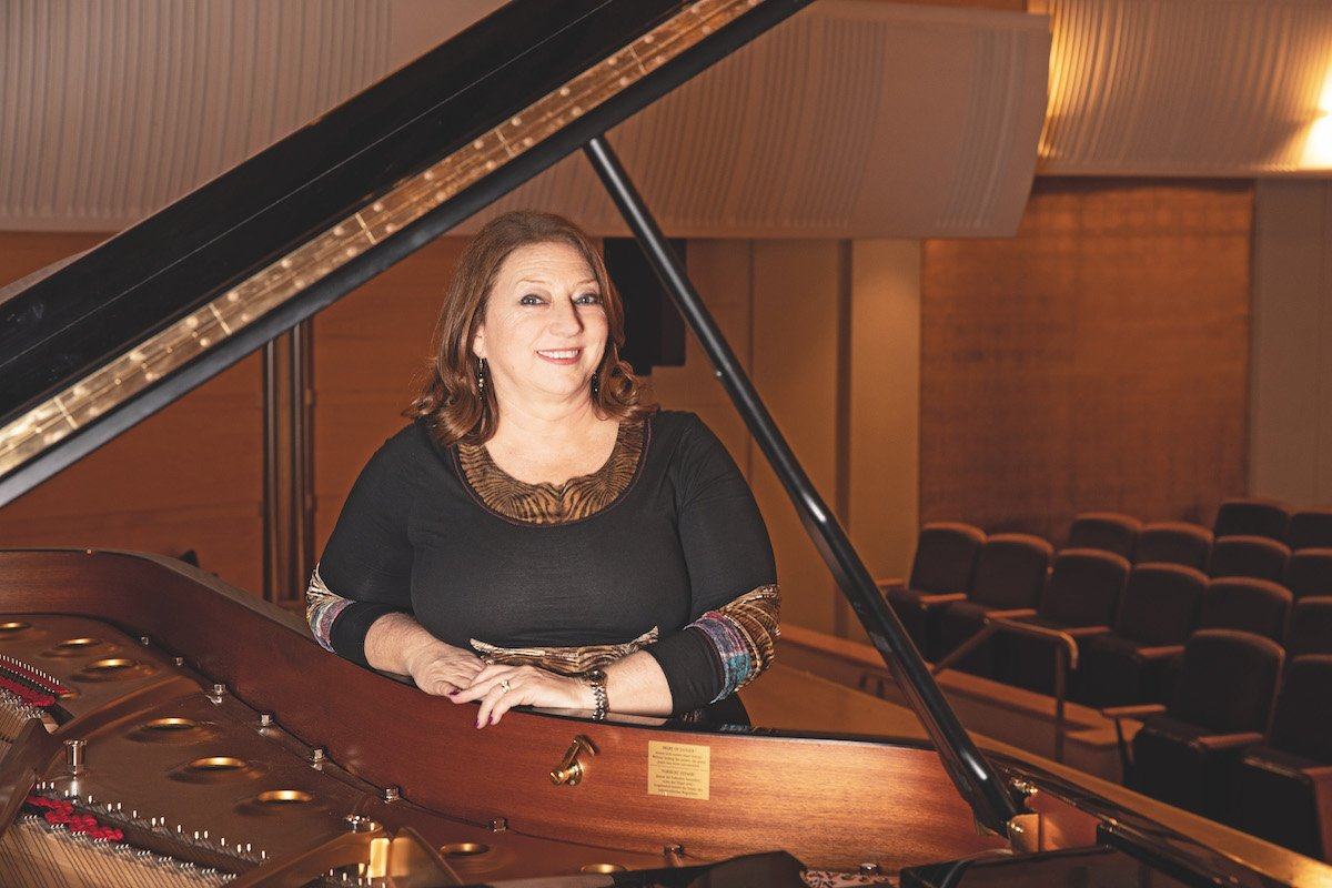 Gabrielle Thompson, CEO of Australian World Orchestra