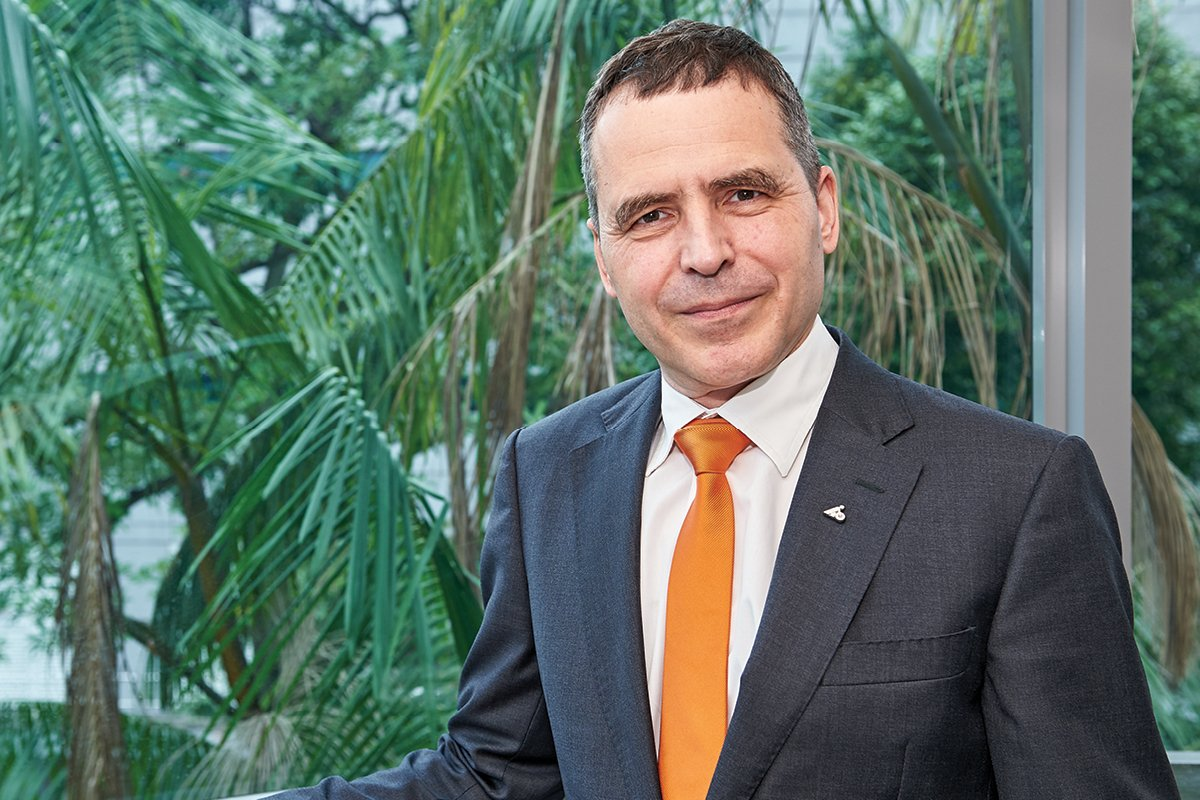 Dr Christian Kober, Senior Vice President of Hoffmann Quality Tools Asia Pacific