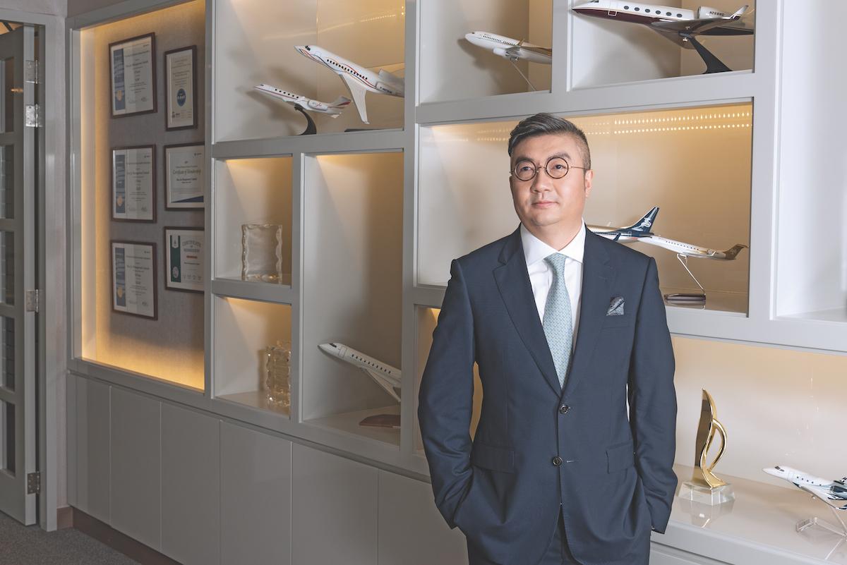 Frank De, President of Sino Jet Management