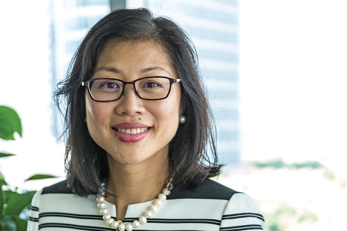 Lisa Sun, CEO of AIG Insurance Company China