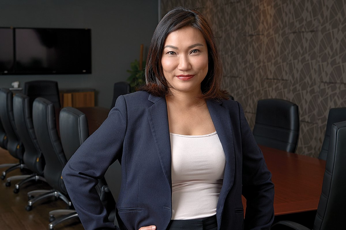 May Lim, Managing Director of Campbell Soup Southeast Asia