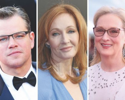 Matt Damon, Meryl Streep, JK Rowling among celebrities donating millions to charity.