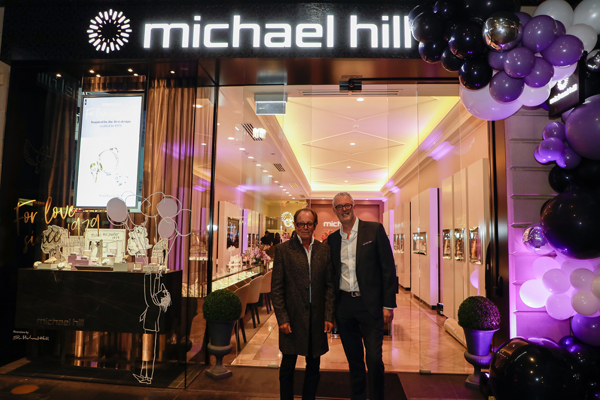 How Sir Michael Hill's tragic house fire led him to 40 years of business success