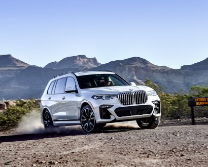 The new BMW X7 is big enough to live in
