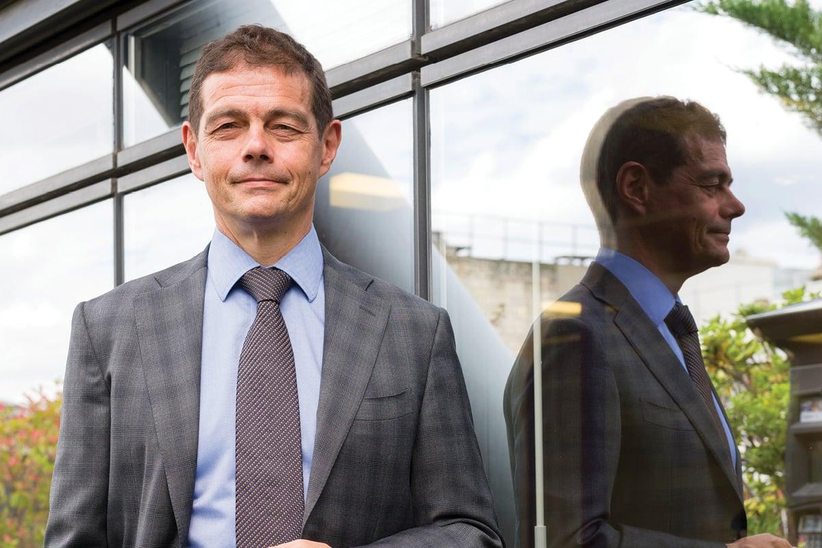 Bertrand Barthelemy, CEO of Flowbird