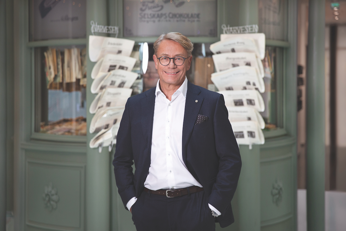 Johannes Sangnes, CEO of Reitan Convenience
